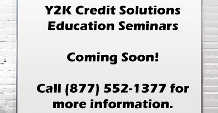 Y2K Credit Education Seminars