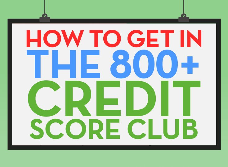 "5 Habits of ""800 Credit Club"" Members"