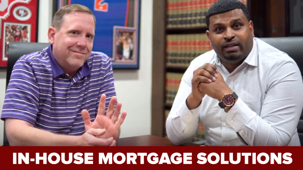 We Offer In-House Mortgage Solutions! (Video)