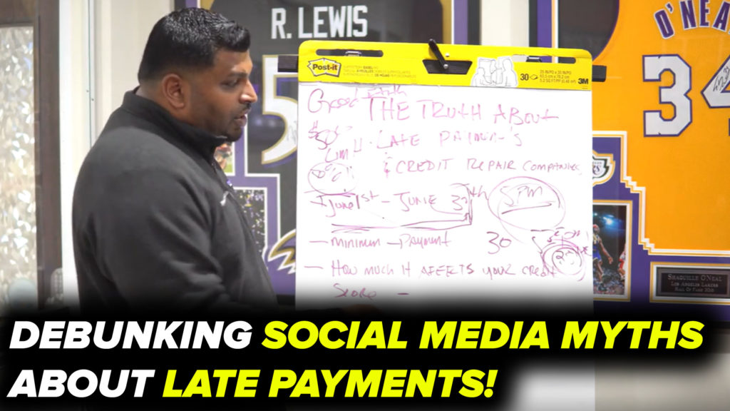 THE TRUTH ABOUT LATE PAYMENTS AND YOUR CREDIT REPORT! (Video)