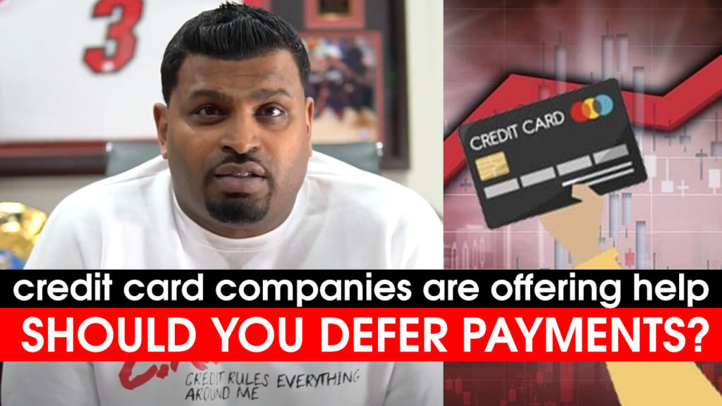 Coronavirus: Should You DEFER Credit Card Payments? (Video)