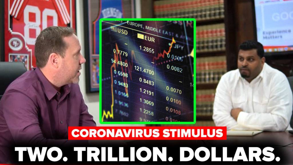 How TWO TRILLION DOLLAR Stimulus Affects You! (Video)