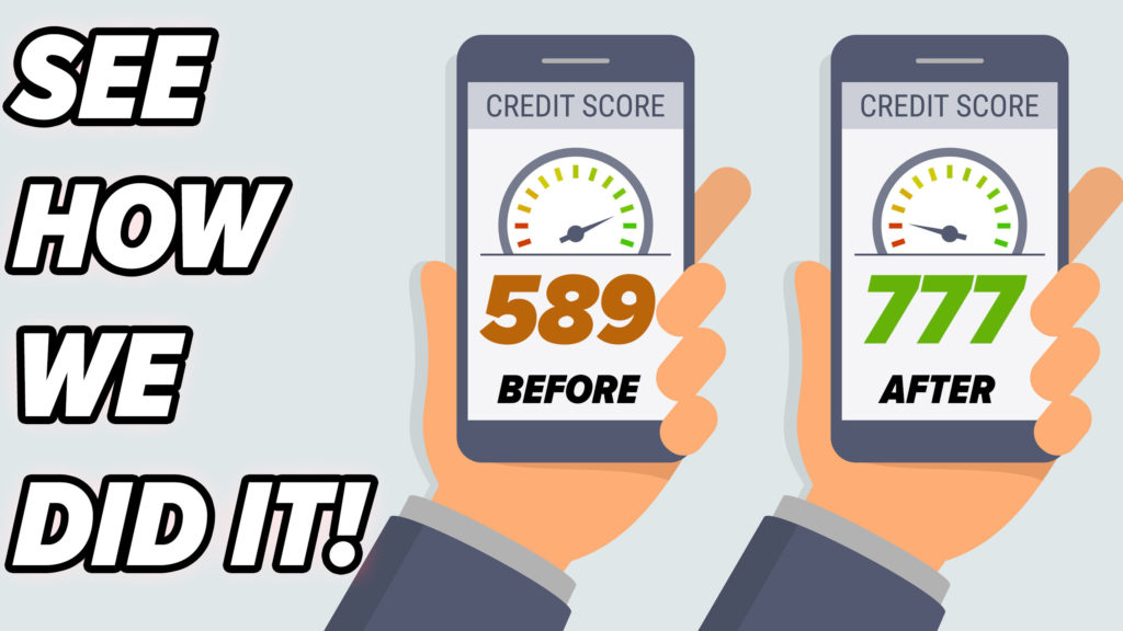 HOW WE INCREASE YOUR CREDIT SCORE!