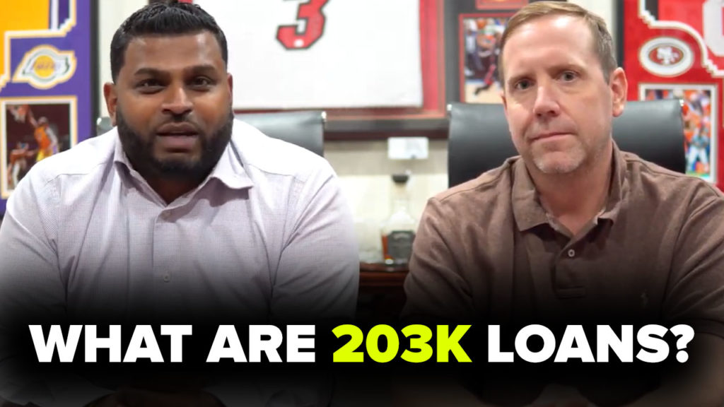 203K LOAN REQUIREMENTS EXPLAINED! (Video)