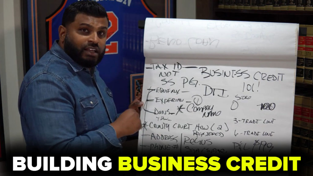 BUILDING BUSINESS CREDIT 101! (Video)